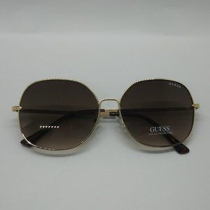 Guess Gold / Brown Sunglasses